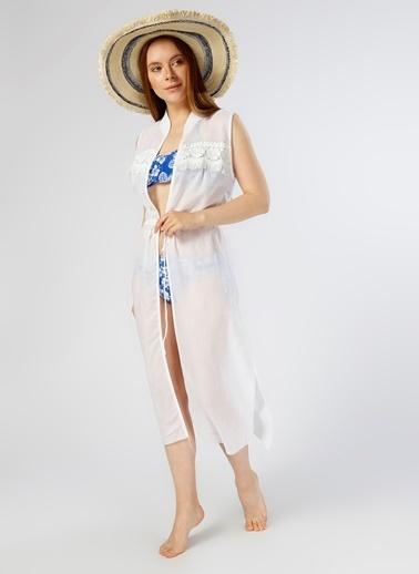 Limon Company Plaj Elbisesi Beyaz